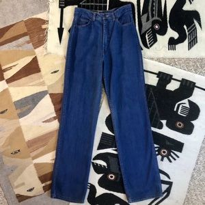 70s Straight Wide Leg High Rise Jeans Dayne Taylor